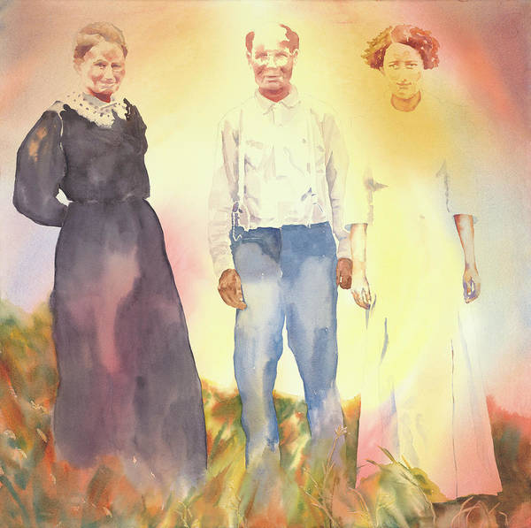 Painting - Olive, John And Anna by Tara Moorman