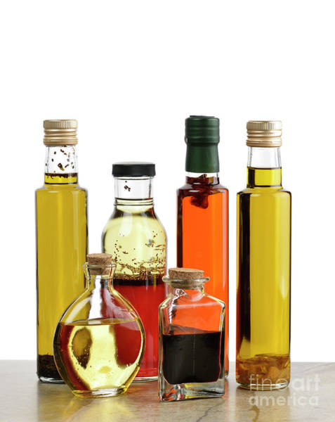 Salad Dressing Photograph - Olive Oil,salad Dressing And Vinegar by Svetlana Foote
