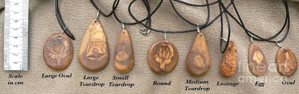 Jewelry - Olive Wood Necklaces by Eric Kempson