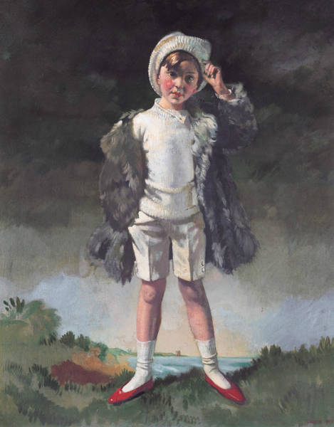 Painting - Oliver Duane Odysseus Gogarty by William Orpen