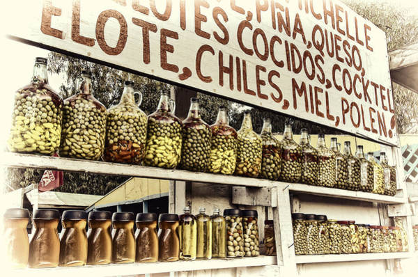 Ensenada Photograph - Olives, Honey, And More Olives by Claude LeTien