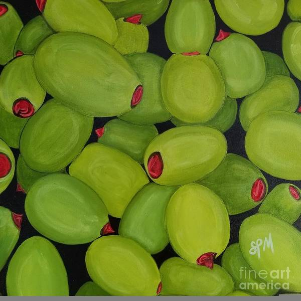 Painting - Olives by Shawn Christopher Mooney