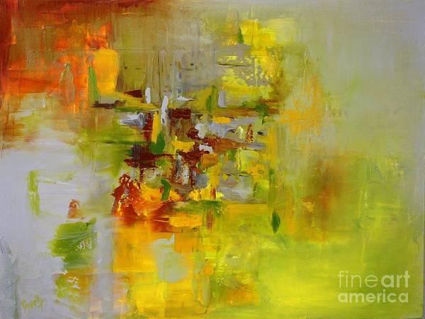 Painting - Olivine by Preethi Mathialagan