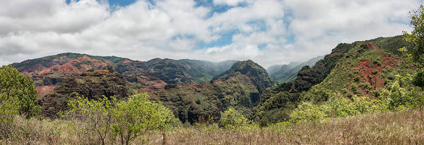 Photograph - Olokele Canyon Panorama 2 by Teresa Wilson