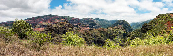 Photograph - Olokele Canyon Panorama by Teresa Wilson