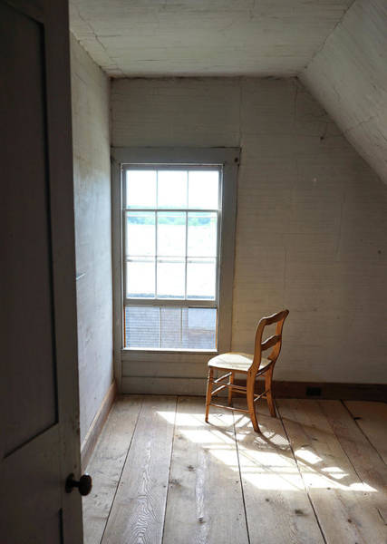 Photograph - Olson House Chair And Window by Paul Gaj