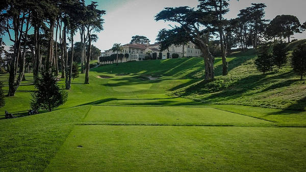 Olympic Club Photograph - Olympic Challenge by Mark Beecher