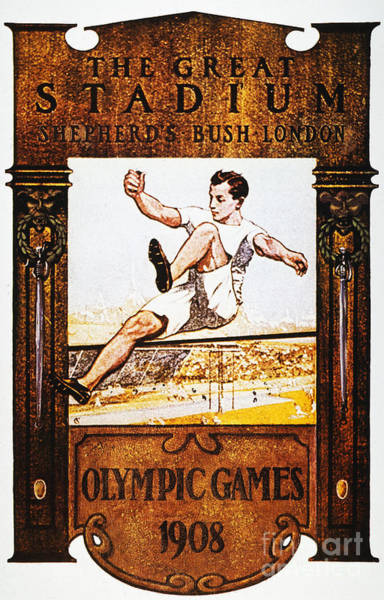 Photograph - Olympic Games, 1908 by Granger
