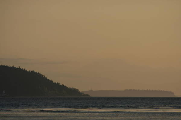 Port Townsend Photograph - Olympic Lighthouses by Dylan Punke