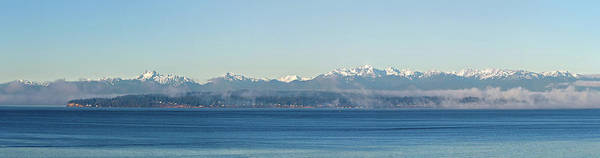 Photograph - Olympic Mountains Across Puget Sound by Mary Jo Allen