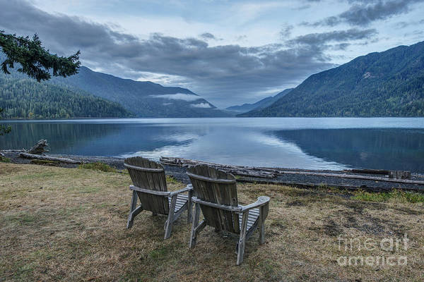 Wall Art - Photograph - Olympic  National Park. Crescent Lake by Rob Tilley