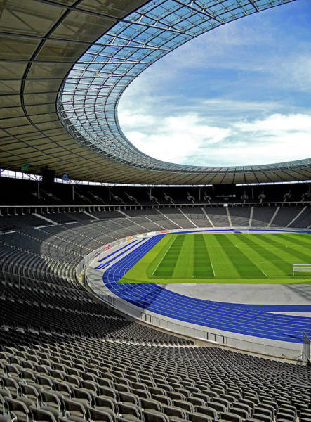Photograph - Olympic Stadium - Berlin by Juergen Weiss