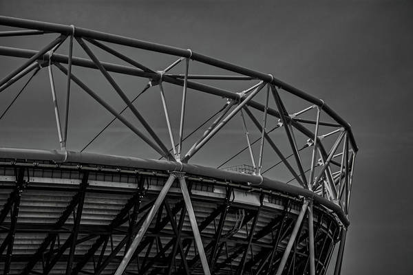 Premier League Wall Art - Photograph - Olympic Stadium by Martin Newman