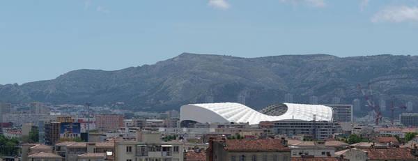Wall Art - Photograph - Stade Velodrome In Marseille Panorama by John Janicki