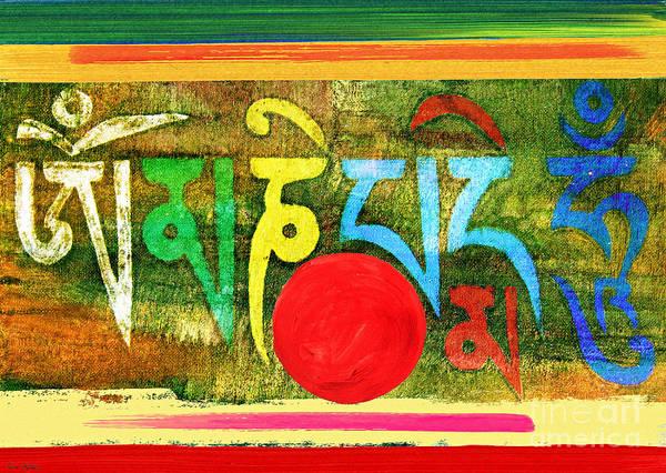 Painting - Om Mani Padme Hum by Lita Kelley