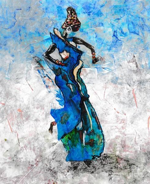 Nigeria Painting - Omalola by Ronda Breen