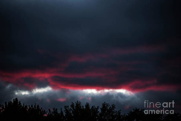 Photograph - Ominous Autumn Sky by Steve Somerville