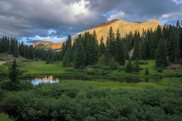 Alpine Meadows Photograph - Ominous Clouds Over Red Mountain Pass by Bridget Calip