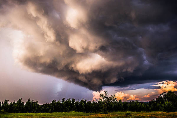 Photograph - Ominous Clouds by Parker Cunningham