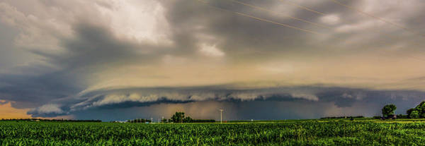 Photograph - Ominous Nebraska Outflow 006 by NebraskaSC