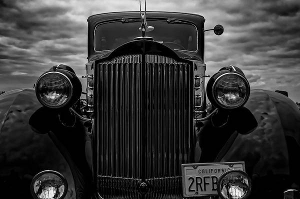 Photograph - Ominous Packard by Thomas Hall