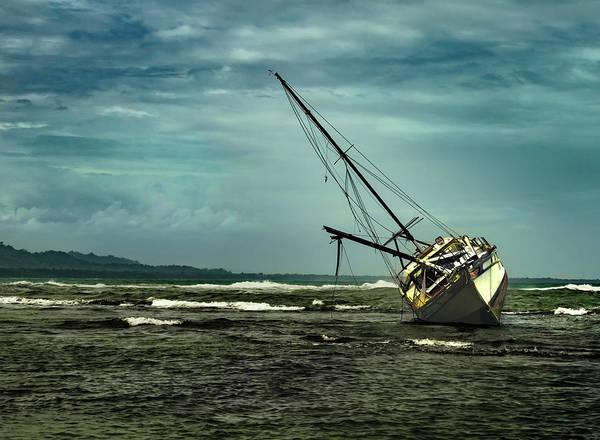 Cahuita Photograph - Ominous Puerto Viejo Skies by Norma Brandsberg