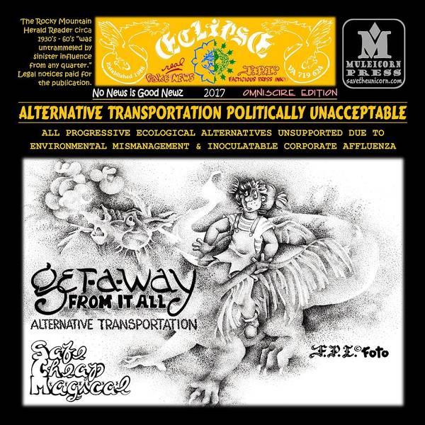 Drawing - Omni Corporate Affluenza by Dawn Sperry