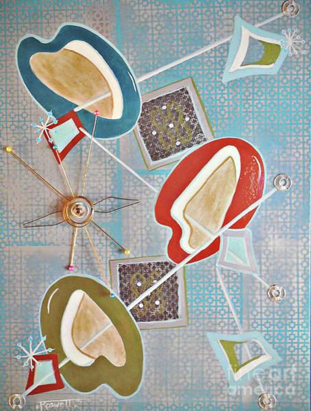 Wall Art - Mixed Media - Omph by Tina Farrow aka ROSWELL