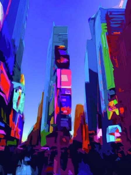 Digital Art - On 44th by Gina Harrison