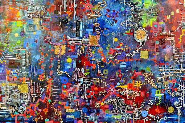 Painting - On A Chip by Regina Valluzzi