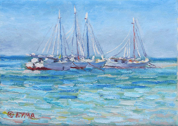 Painting - On A Clear Day by Ritchie Eyma