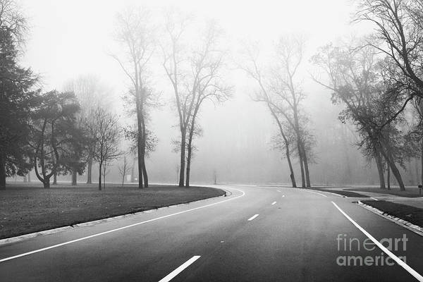 Photograph - On A Foggy Morning by Ricky L Jones