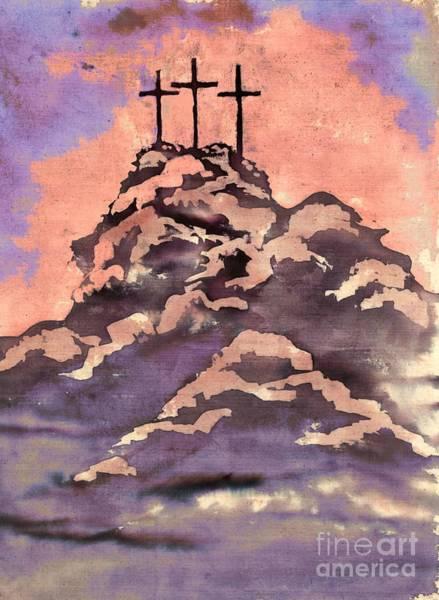 On A Hill Far Away Art Print