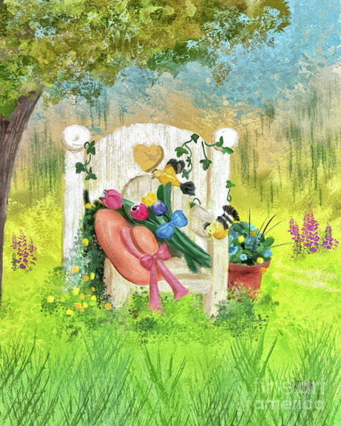 Digital Art - On A Perfect Spring Day by Lois Bryan