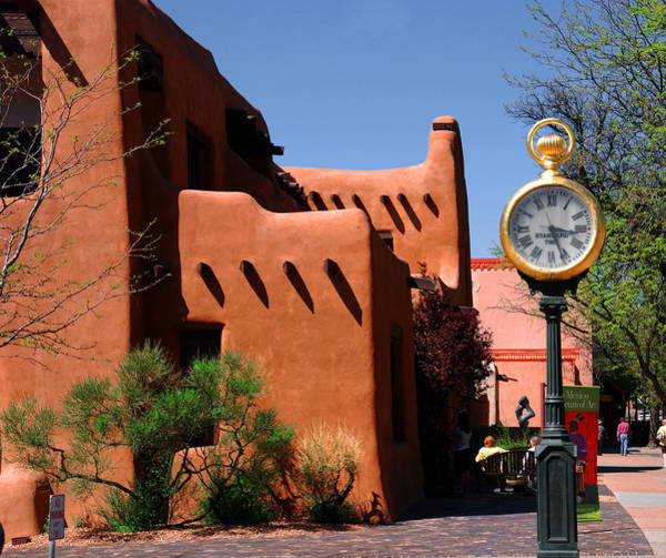 Photograph - On A Sunny Afternoon In Santa Fe by Susanne Van Hulst