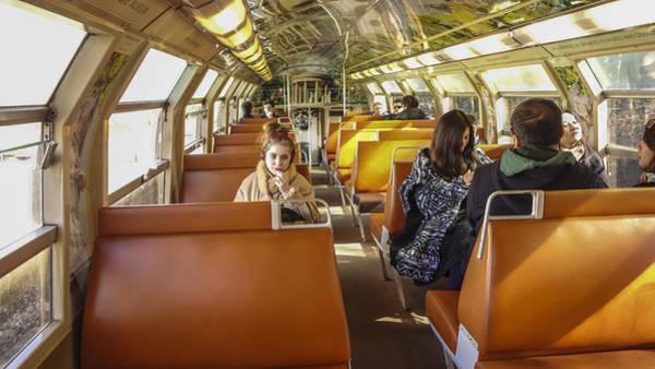 Photograph - On A Train by Matthew Bamberg