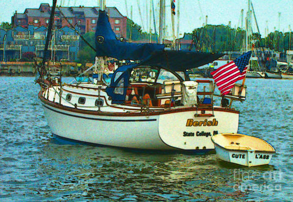 Painting - On Chesapeake Bay by Elinor Mavor