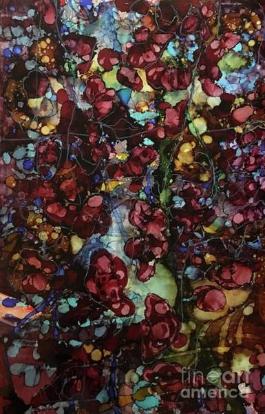 Painting - On Clustered Vine by Holly Suzanne