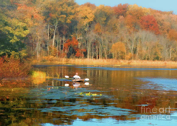 Photograph - On Golden Pond by Geoff Crego