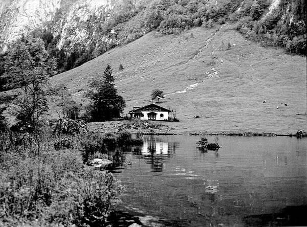 Photograph - On Konigssee Lake Bavaria 1967 by Lee Santa