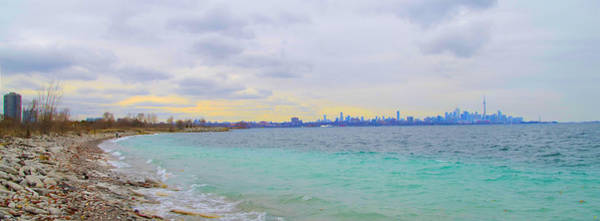 Photograph - On Lake Ontario Panorama by Bill Cannon