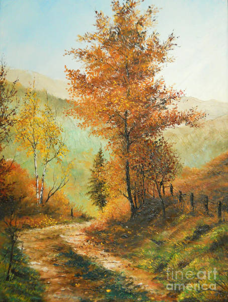 Wall Art - Painting - On My Way Home by Sorin Apostolescu