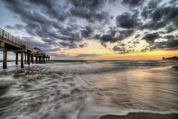 Photograph - On Orange Beach by JC Findley