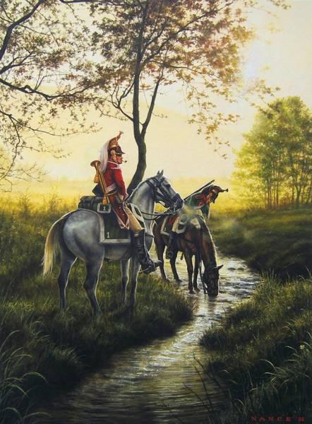 Napoleon Wall Art - Painting - On Patrol by Dan  Nance