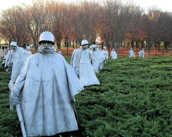 On Patrol The Korean War Memorial Art Print