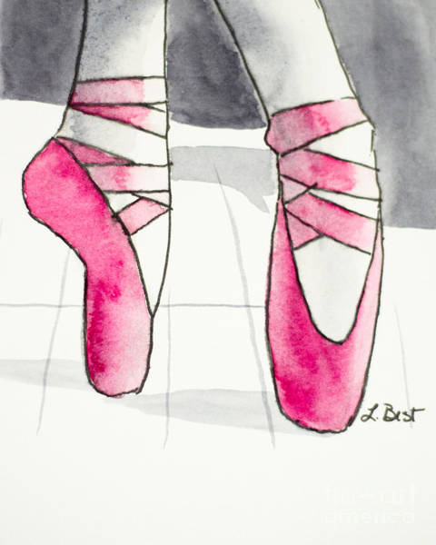 Painting - On Pointe by Laurel Best