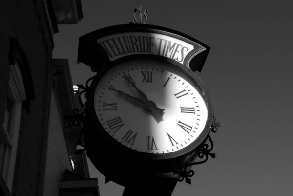 Telluride Photograph - On Telluride Time by David Lee Thompson