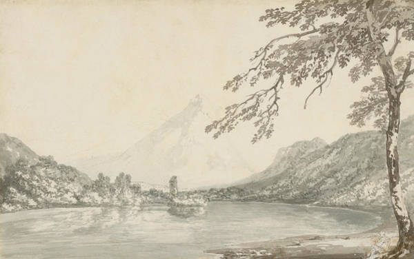 Painting - On The Aar Between Unterseen And Lake Of Brienz  by Joseph Mallord William Turner