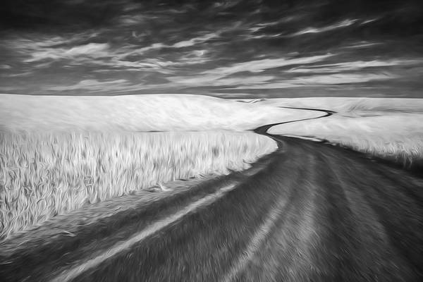 Digital Art - On The Back Road II by Jon Glaser