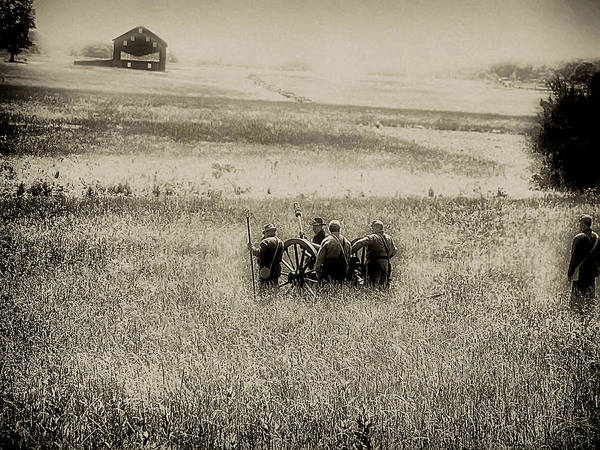 Photograph - On The Battlefield - Gettysburg by Bill Cannon